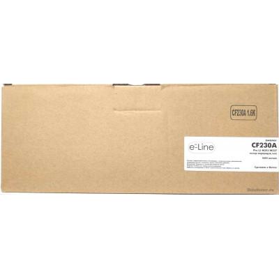 Картридж для HP LJ M203 / M227 CF230A (1.6k) e-Line