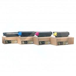 Тонер-картридж Булат TK-5160 для Kyocera ECOSYS P7040, 12000 стр., Cyan (+Чип) Булат s-Line
