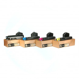 Картридж для Kyocera ECOSYS M6030 TK-5140 (5k) Yellow (+Чип) БУЛАТ s-Line