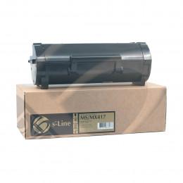 Тонер-картридж Булат 51B5H00 для Lexmark MS/ MX417, 8500 стр., (Чип Булат для 2,5k) Булат s-Line