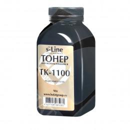 Тонер Булат для Kyocera FS-1024MFP банка 90 г TK-1100 Булат s-Line
