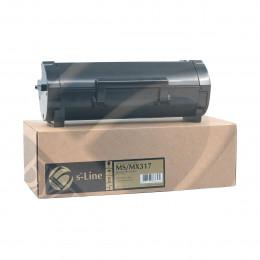 Тонер-картридж Булат 51B5000 для Lexmark MS/ MX317, 2500 стр., Булат s-Line