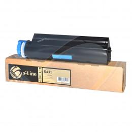 Тонер-картридж Булат 44917608 для Oki B431/ MB491, 12000 стр., Булат s-Line